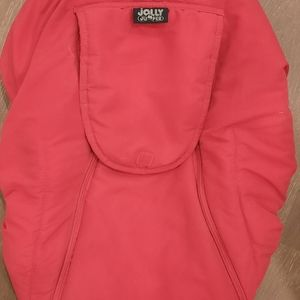 Jolly Jumper red carseat cover